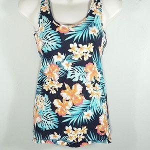 Victoria Secret PINK Hawaiian Floral Tank Top
